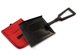 Compact Folding Snow Shovel and Carry Bag