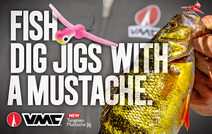 Catch Monster Panfish With The New VMC Tungsten Mustache Jig