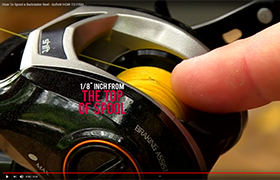 How To Spool a Baitcaster Reel