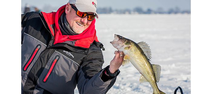 Rapala Lures Help Outdoor Bound Crew Ice Big Walleye