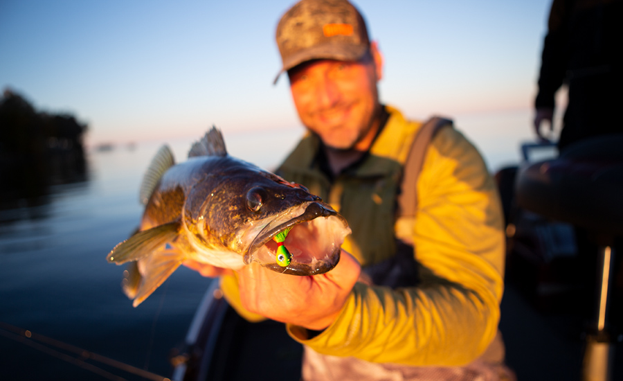 CATCH ALL THE WALLEYES YOU WANT WITH THREE VMC® JIGS