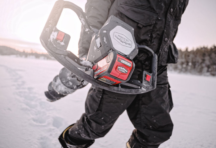 LOVING LITHIUM: THE BENEFITS OF AN ELECTRIC ICE DRILL