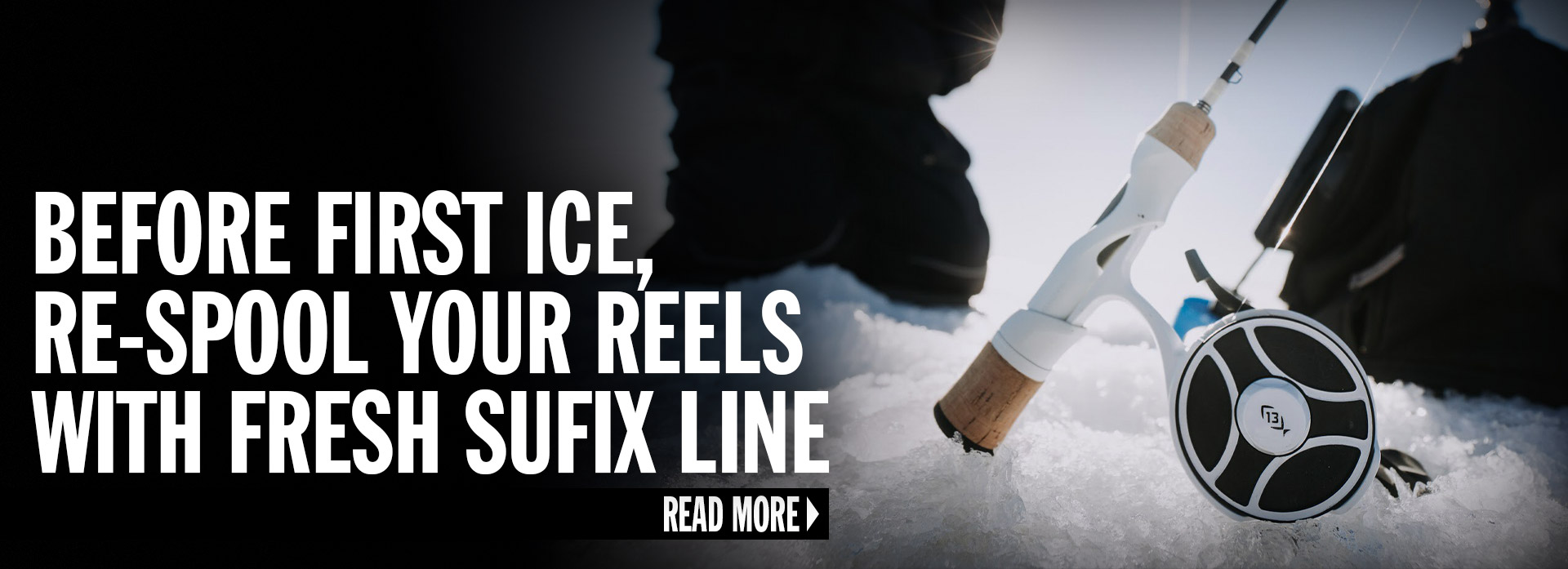 Before First Ice, Re-Spool Your Reels With Fresh Sufix Line