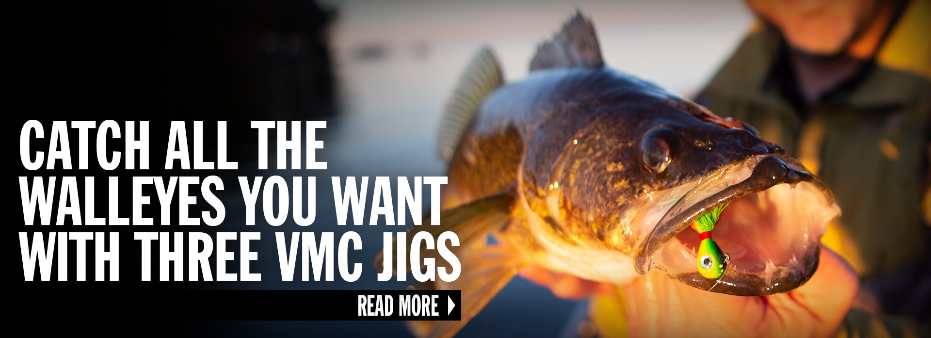 Catch All The Walleyes You Want With Three VMC Jigs