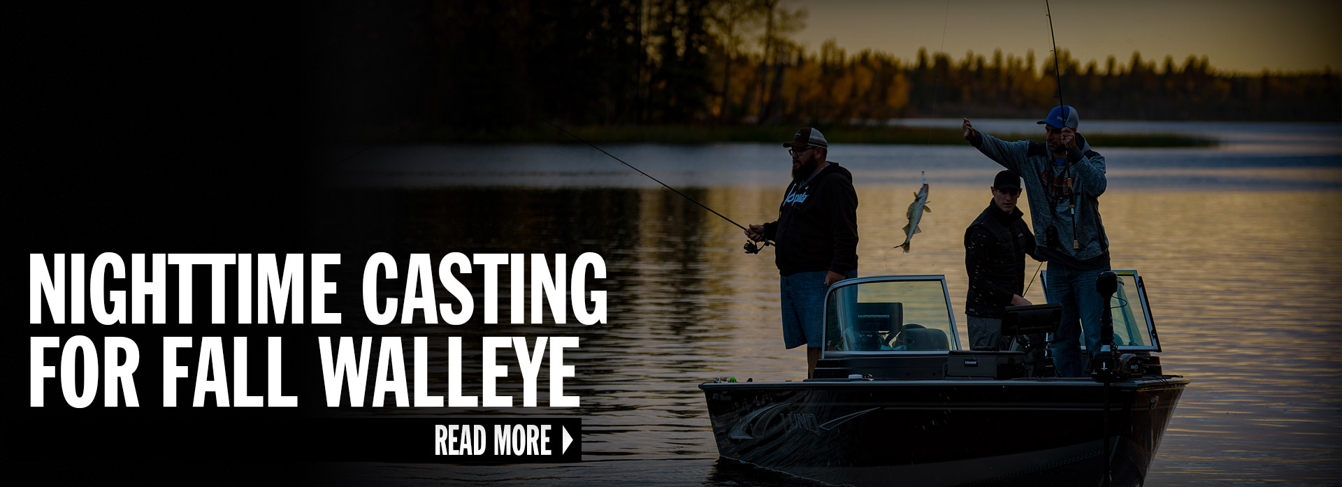 Nighttime Casting For Fall Walleye