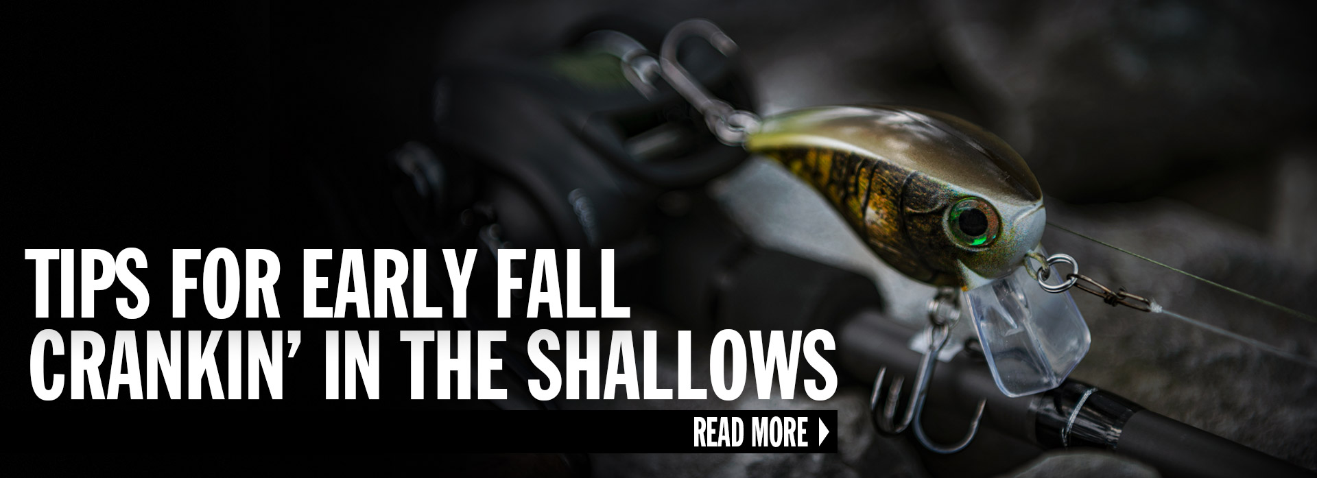 Tips For Early Fall Crankin' In The Shallows