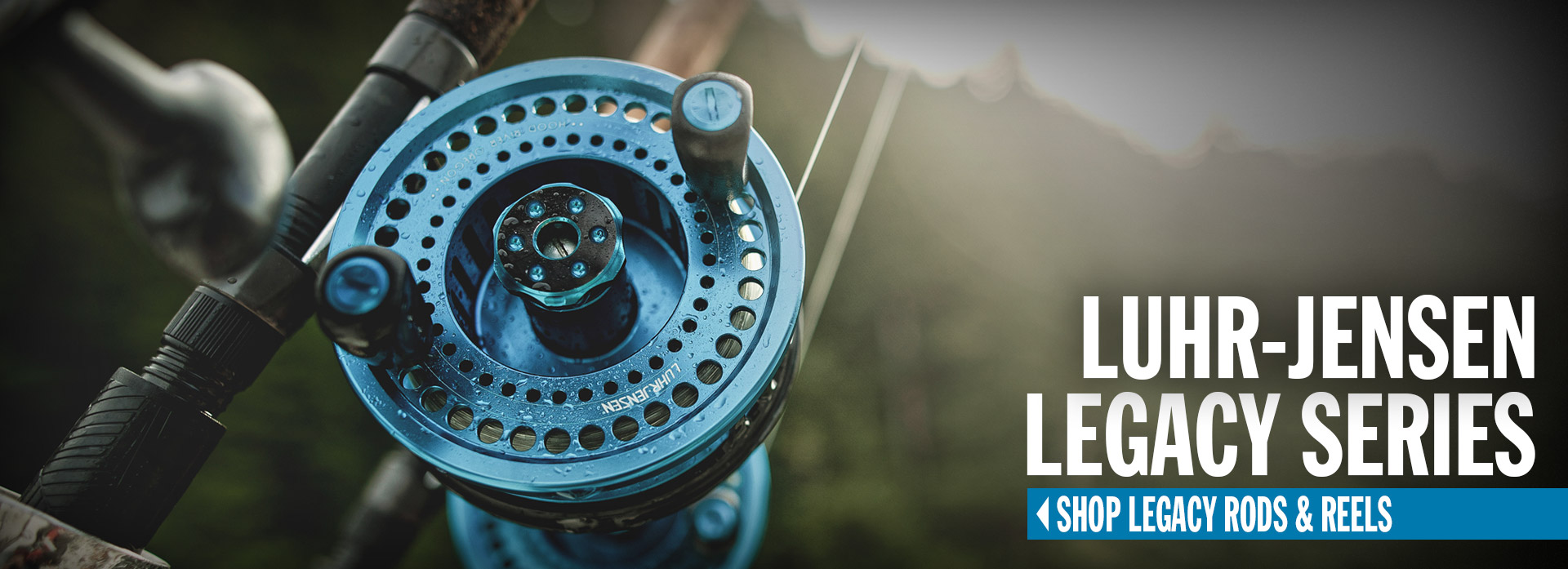 Luhr-Jensen Legacy Fishing Rods and Reels