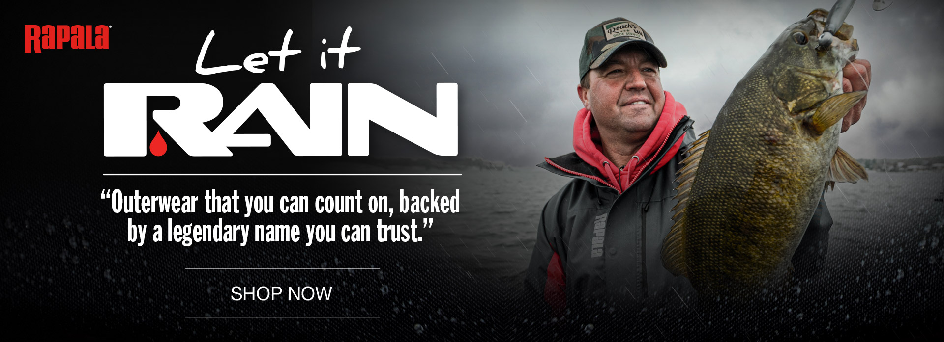Let it Rain - New Rapala Outerwear