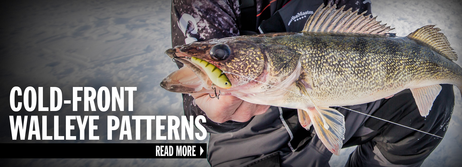 Cold-Front Walleye Patterns