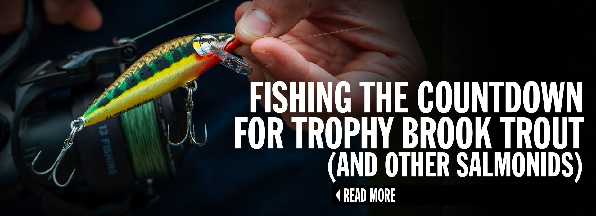 Fishing the Countdown for Trophy Brook Trout